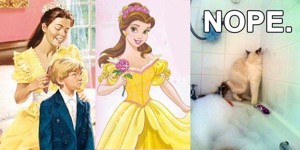 Kristy Thomas is a Disney Princess. Nope.