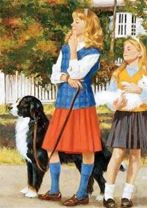Astrid of Grenville, Shannon Kilbourne, Amanda Delaney and Priscilla