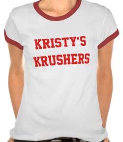 Kristy's Krushers t-shirt