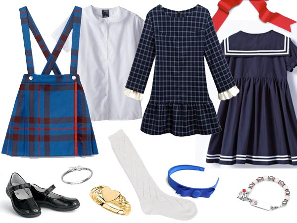 Marilyn and Carolyn Arnold's outfits in the Baby Sitters Club